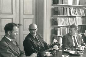 Institutt for sammenlignende kulturforsking, Oslo, juni 1961.